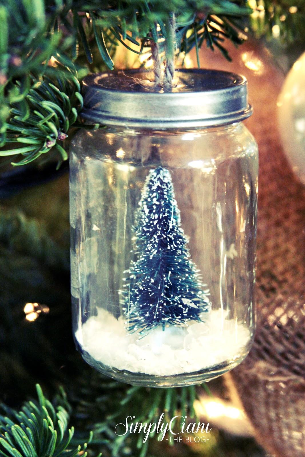 50 Homemade Christmas Ornaments - DIY Handmade Holiday Tree ...