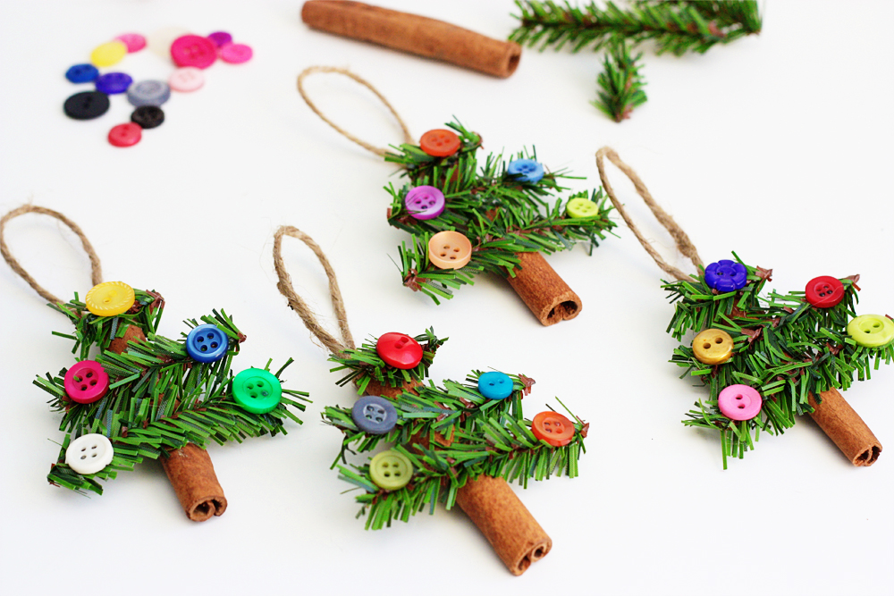 50 Homemade Christmas Ornaments - DIY Handmade Holiday Tree ...