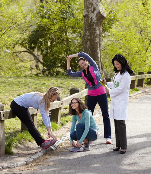 Skechers GOwalk Lightweight Rainbow Slip-On Walking Shoe - Womens
