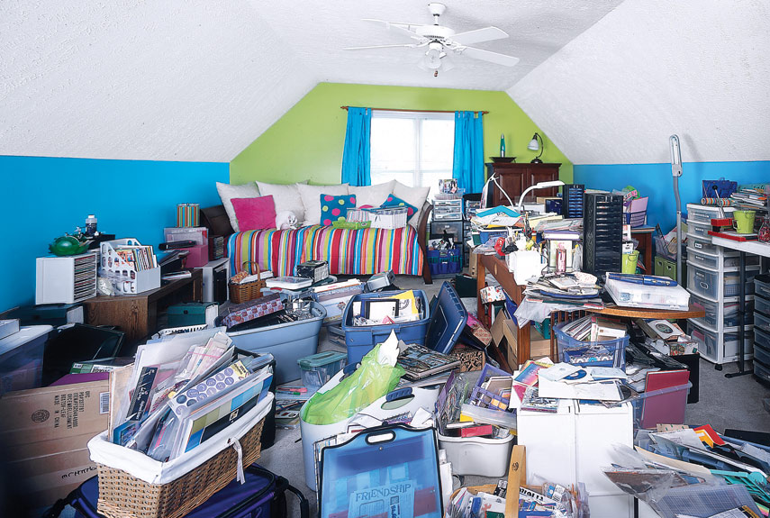 spare room before makeover. Declutter Your Home   Messy Home Makeover