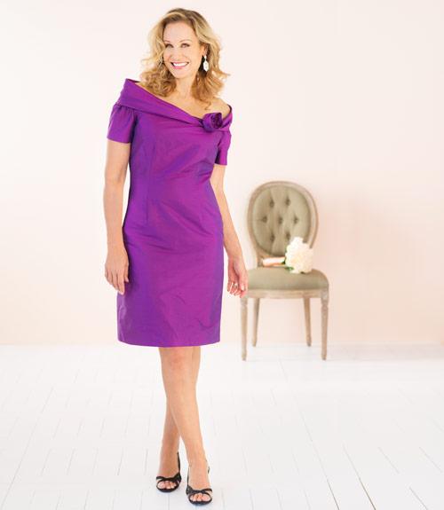 Make Me Over Purple Dress