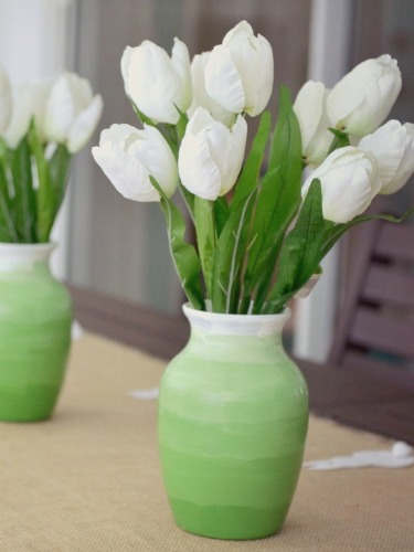 decorate a glass vase glass vase crafts