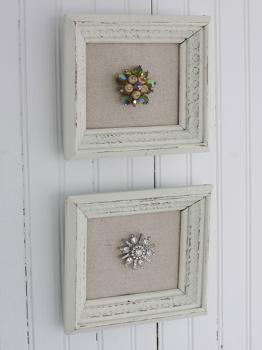 Creative things to frame framed craft projects for Old picture frame projects