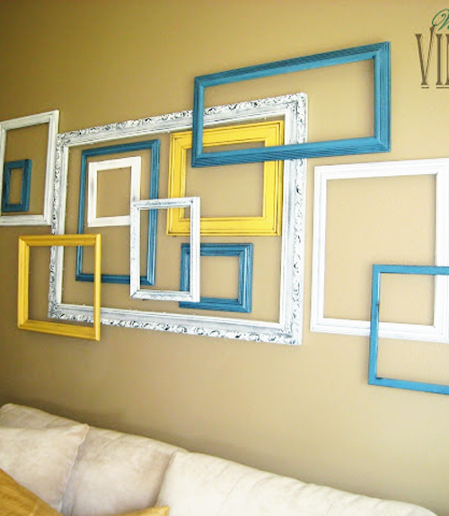 Funky Wall Collage Frames Ideas Gift - Wall Art Design ...