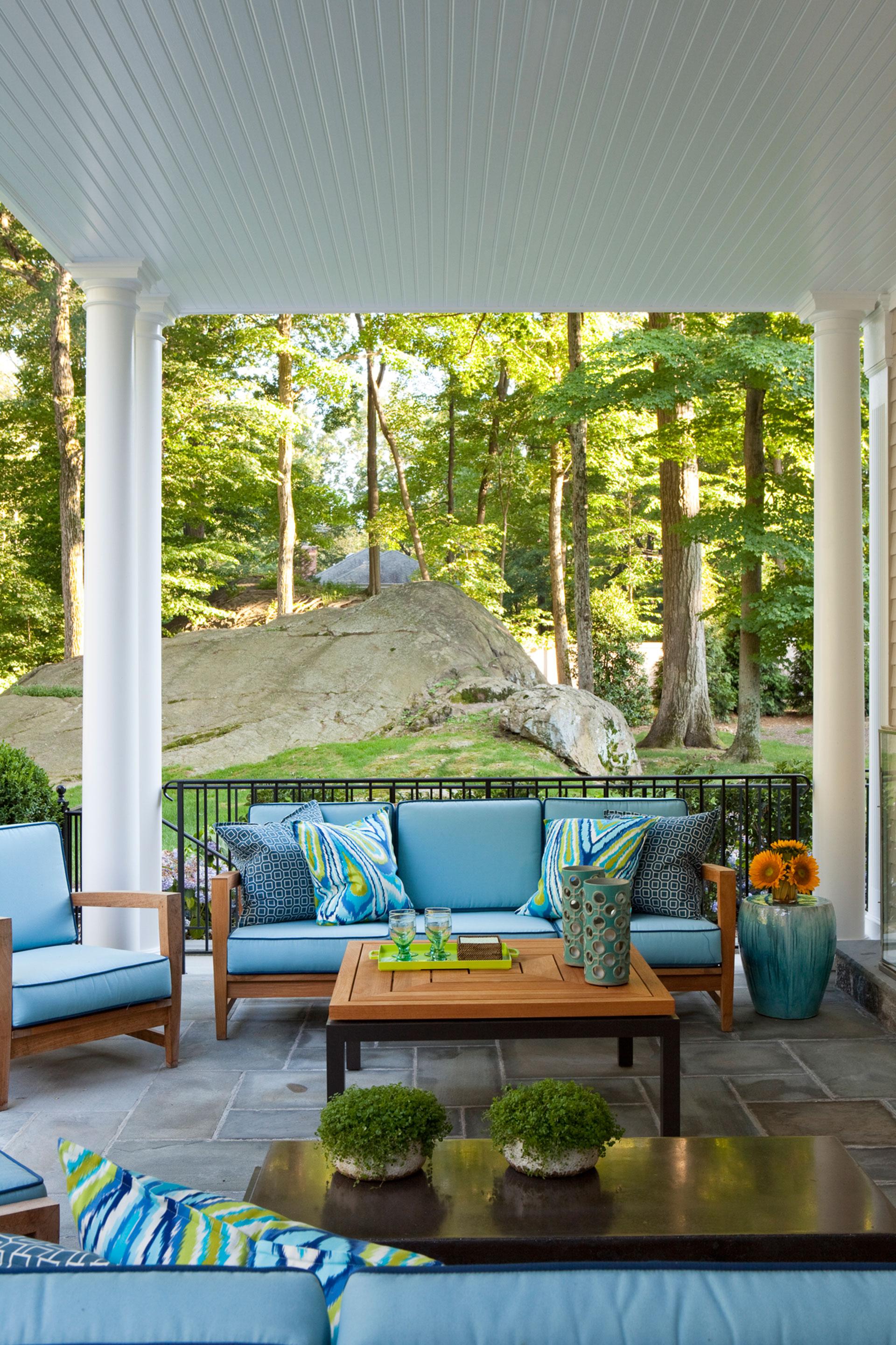 Patio Design Ideas Porch Styles - Good housekeeping patio furniture