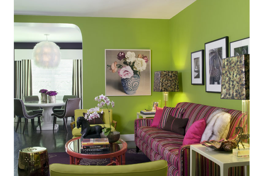 Green rooms decorating with green - How to deoration room ...