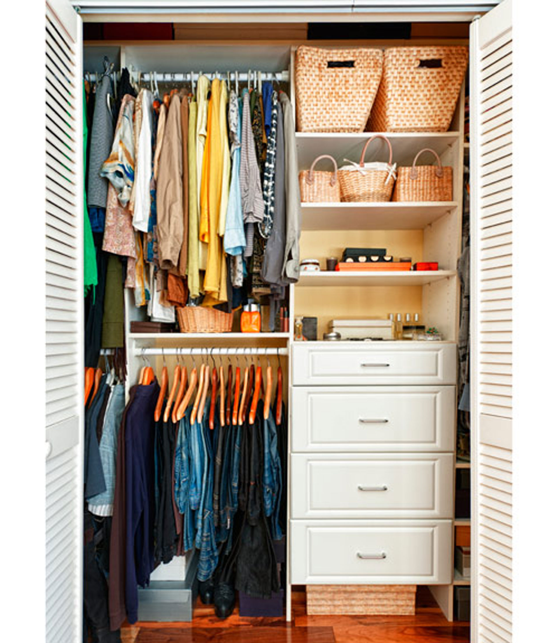 Closet Storage Storage Solutions - Cool diy coat rack for maximizing closet space