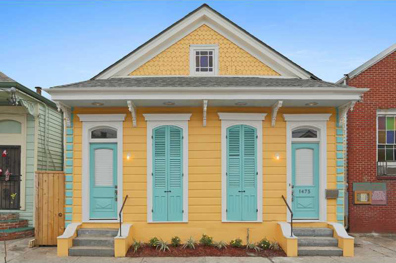 Yellow New Orleans Cottage Unique Homes And Real Estate