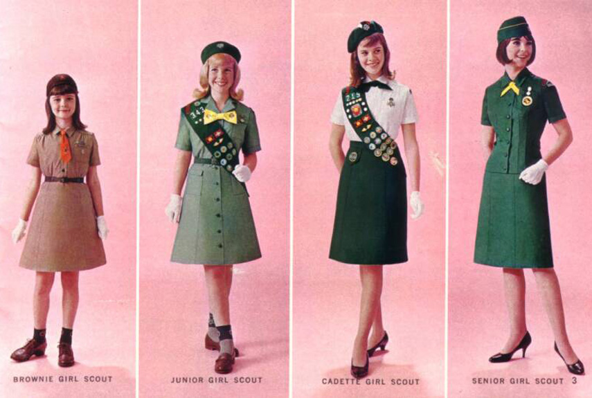 Girl Scout Uniforms Through the Years - Iconic Girl Scout Outfits