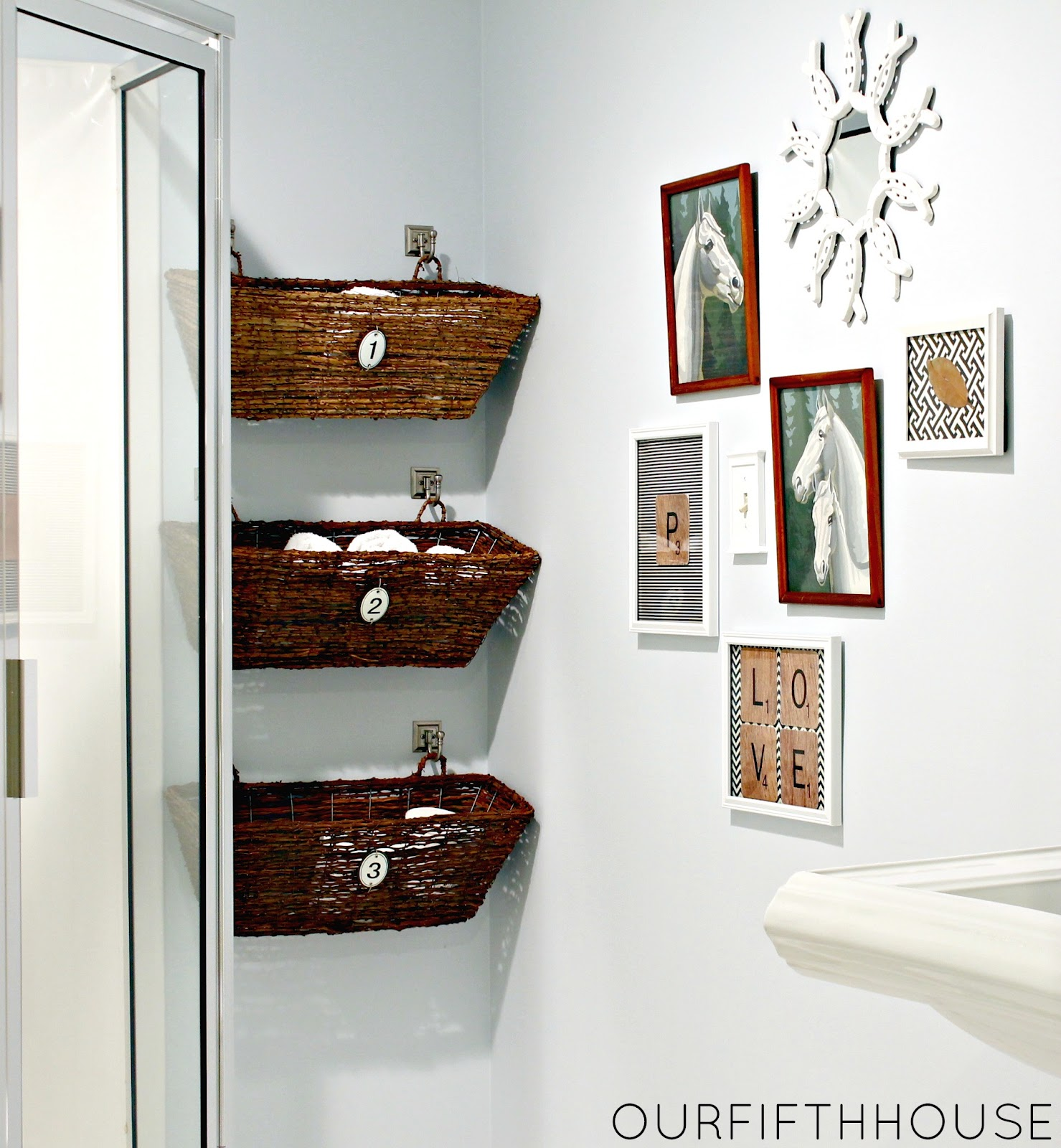 15 Small Bathroom Storage Ideas - Wall Storage Solutions and Shelves for  Bathrooms