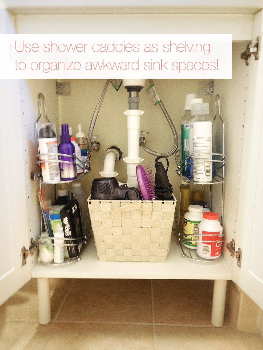 Bathroom cabinet organizers - 12 Small Bathroom Storage Ideas Wall Storage Solutons And Shelves For Bathrooms