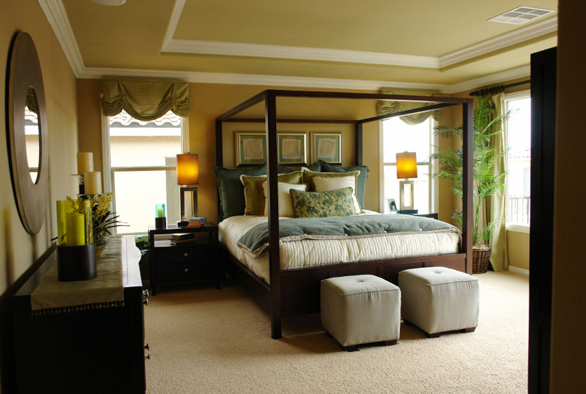 Master Bedroom Design Ideas modern master bedroom design ideas with small carpet brown blankets and smart lighting 70 Bedroom Decorating Ideas How To Design A Master Bedroom