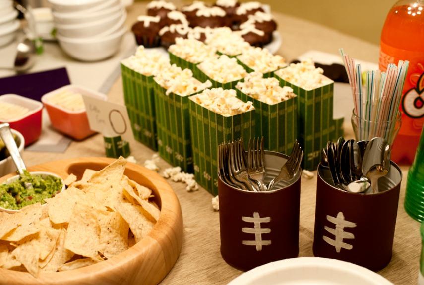 Super Bowl Party Ideas 15 fun super bowl crafts - super bowl themed diy ideas