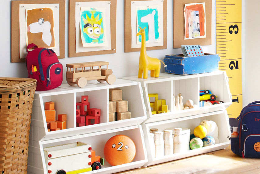 Kids storage solutions organizing kids rooms for Organizers for kids rooms