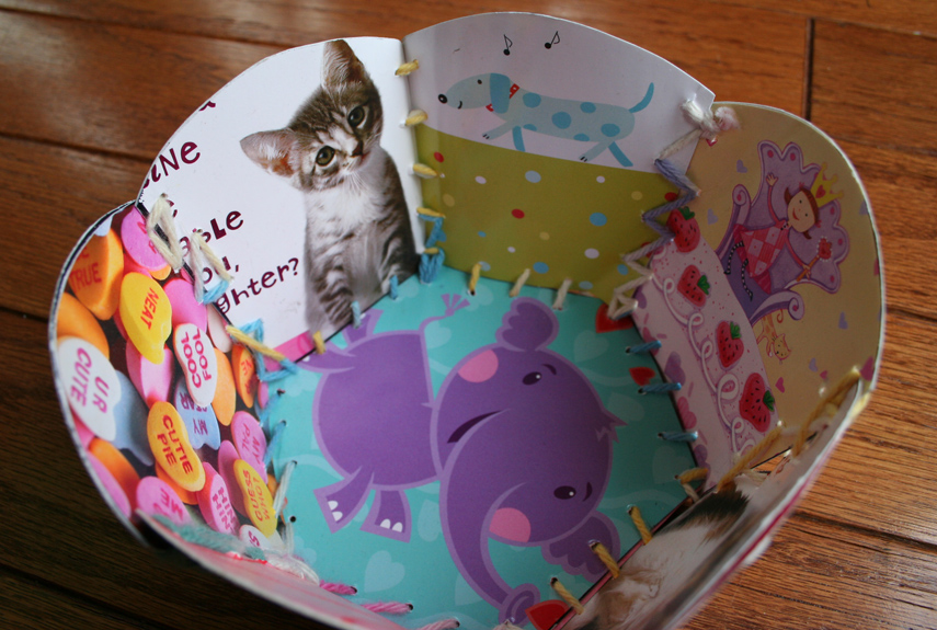 Greeting Card Crafts How to Use Old Cards – Birthday Card Trick