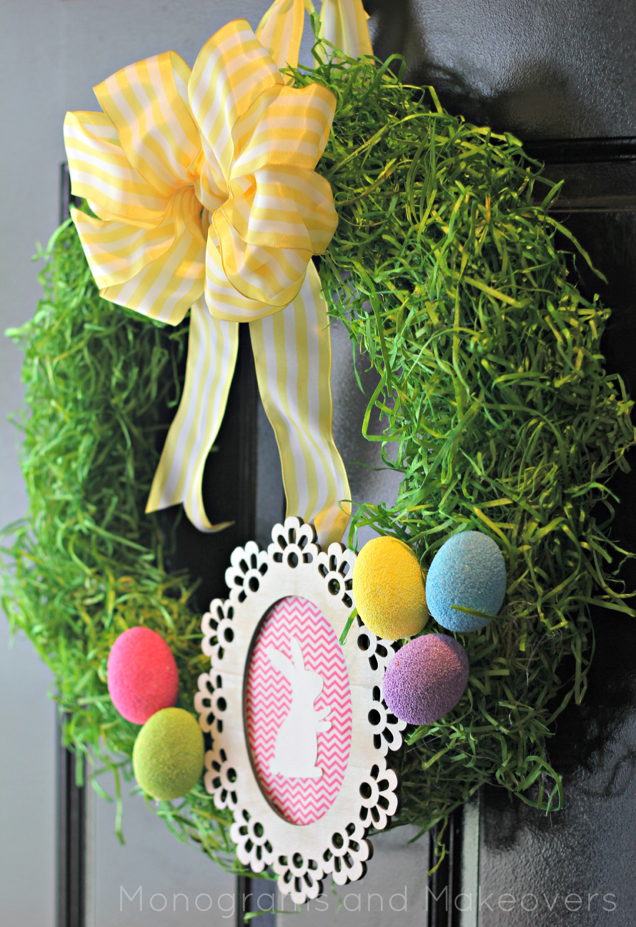 Spring Door Wreath Ideas Part - 19: Good Housekeeping