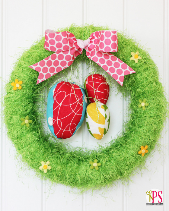 30 diy easter wreaths ideas for easter door decorations to make - Wreath Design Ideas