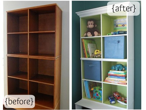 painting shelves ideasRepurpose Old Furniture  DIY Furniture Makeovers