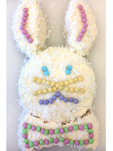 Easy Easter Bunny Cake Recipe - How to Make a Bunny Cake