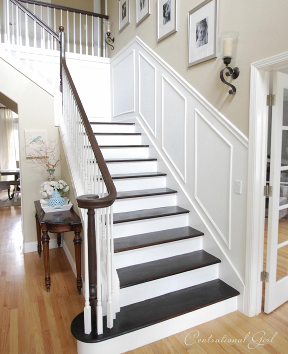 Staircase design upgrades makeover your stairs for Ideas for redoing stairs