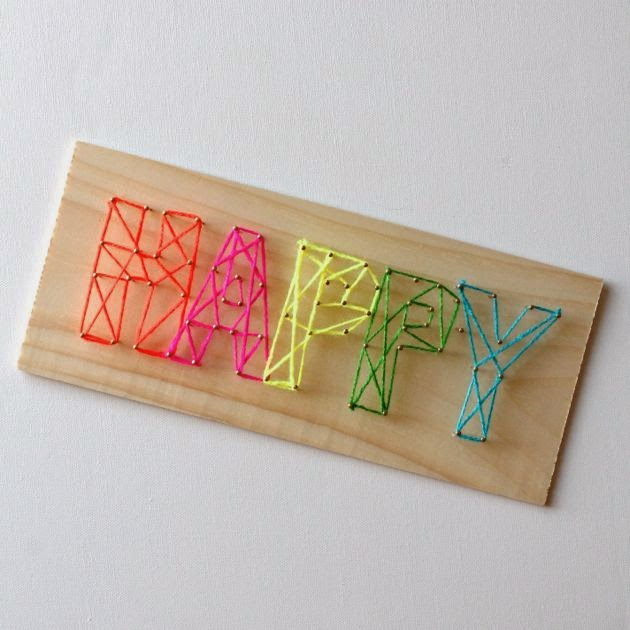 Crafts you can make with your kids fun diy projects for Stuff to make with string