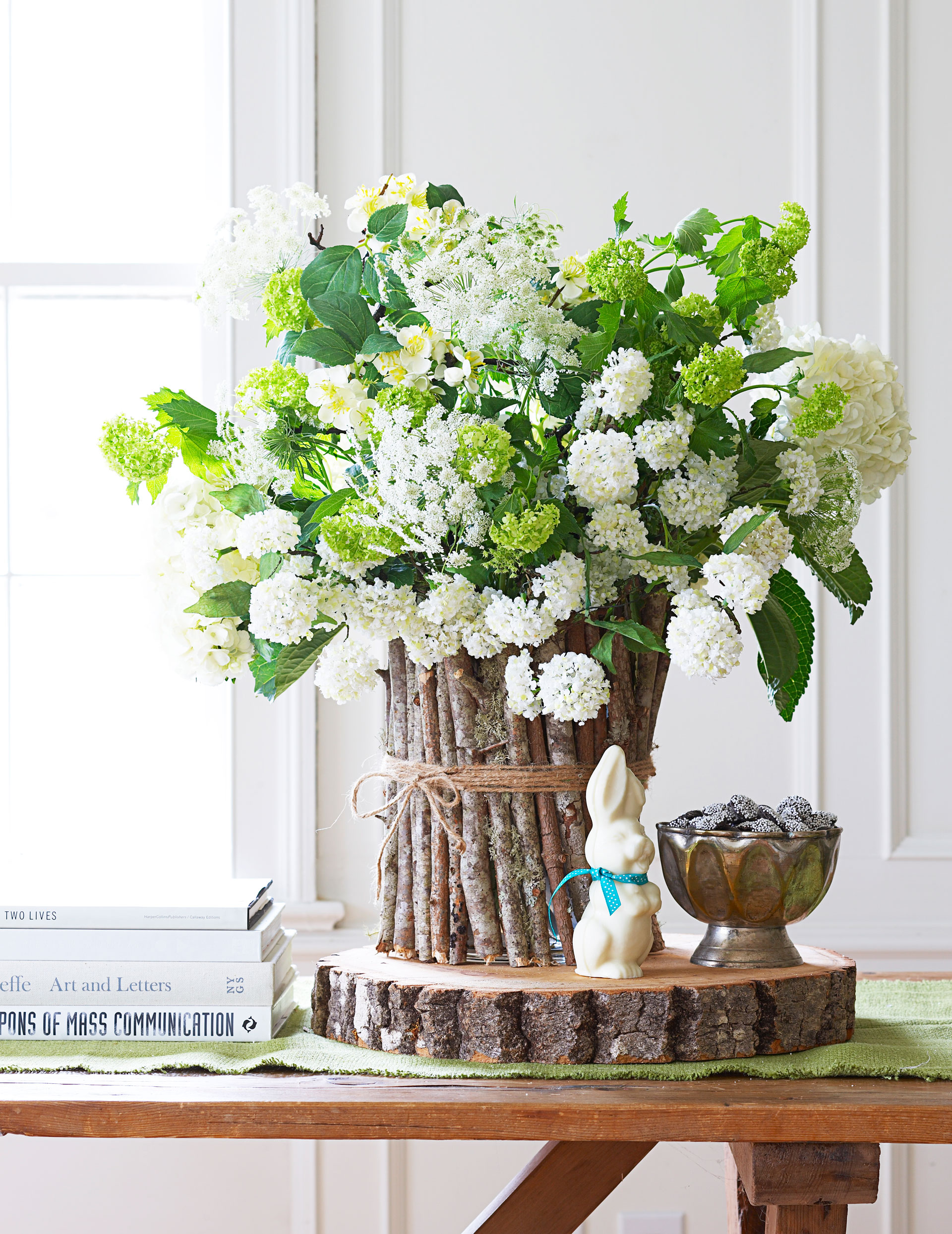 75 Easter Flower Arrangements Floral Centerpieces for Easter : 54ff4e805ad6e 0414 easter lace s2 from www.goodhousekeeping.com size 1920 x 2489 jpeg 1038kB