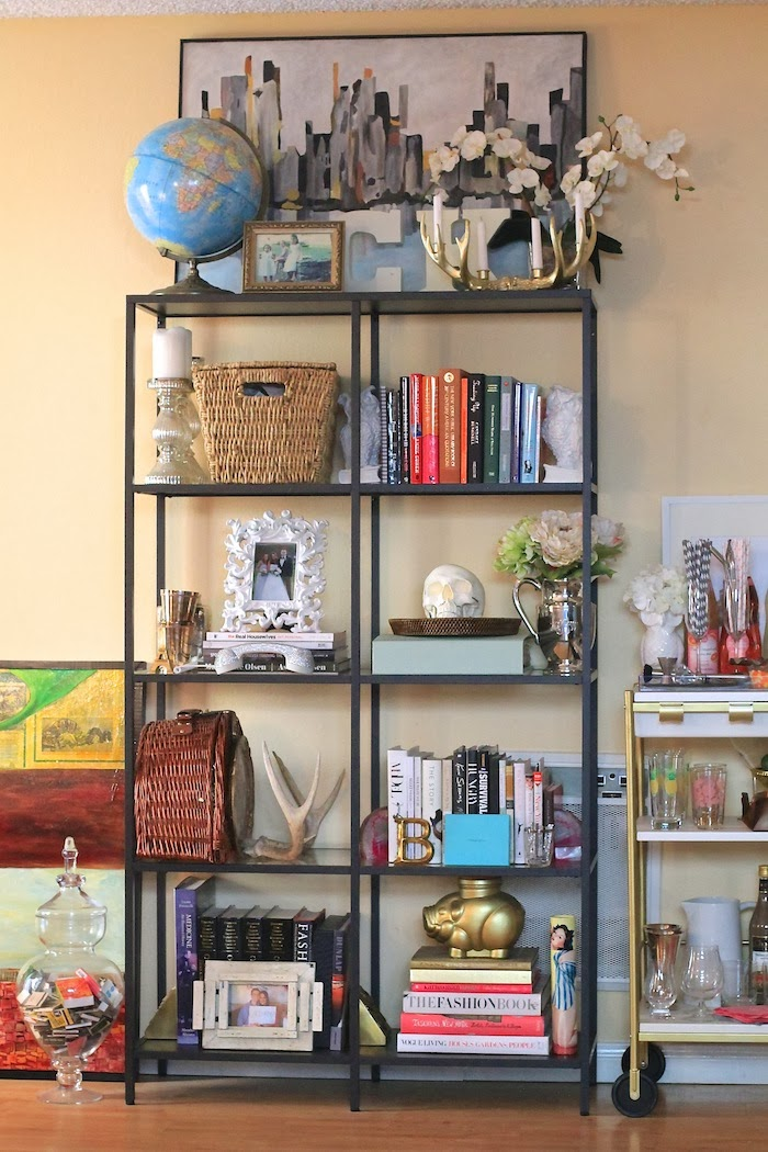 styling a bookshelf home decorating tips - Styling Bookcases