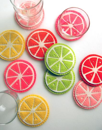 Citrus Inspired Crafts