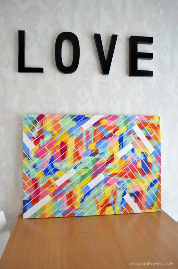 12 easy diy canvas art crafts how to decorate your own blank canvas projects - Canvas Design Ideas