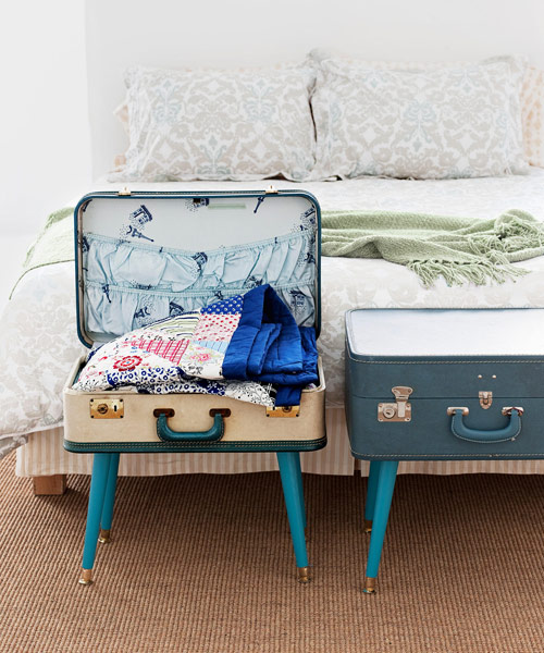 DIY Table from Luggage - Suitcase Table Craft