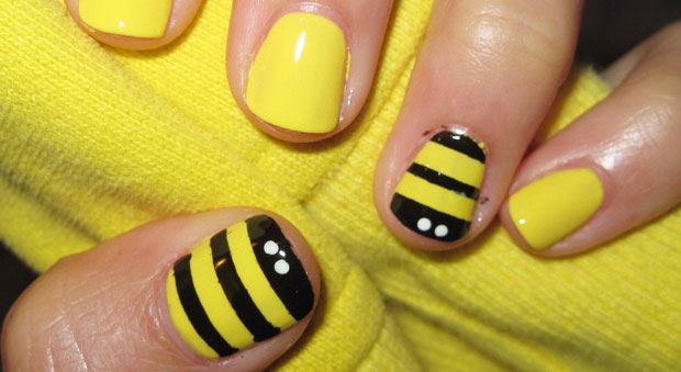 Nail art designs and ideas for summer nail art for memorial day sweet bees prinsesfo Choice Image