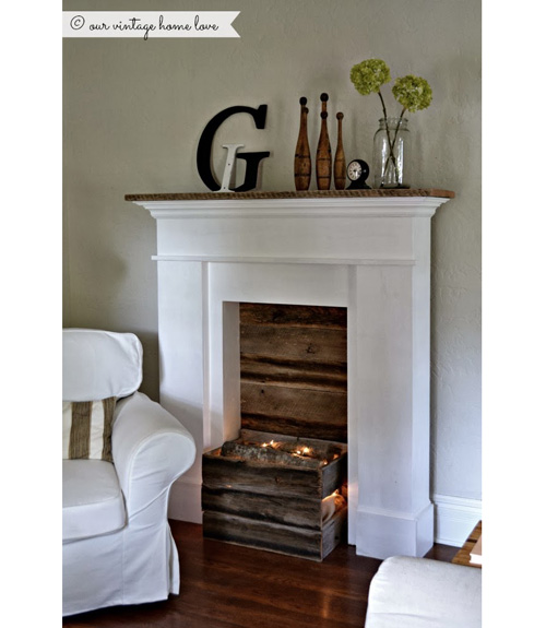 - Fireplace Decor - Designs For A Faux Fireplace