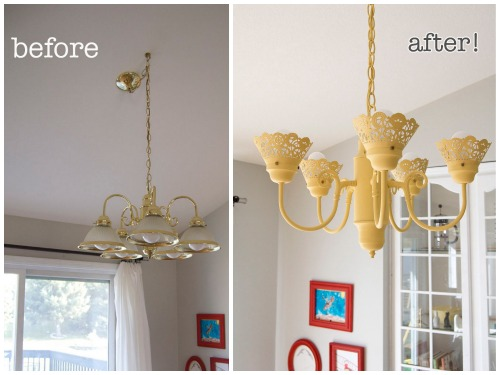 DIY Light Fixture Upgrades
