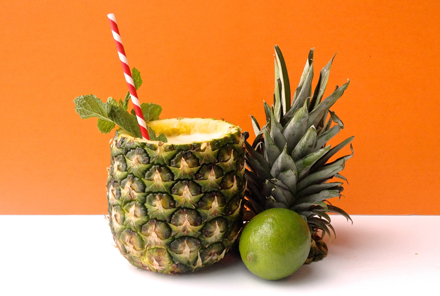 Image result for cocktail in a pineapple