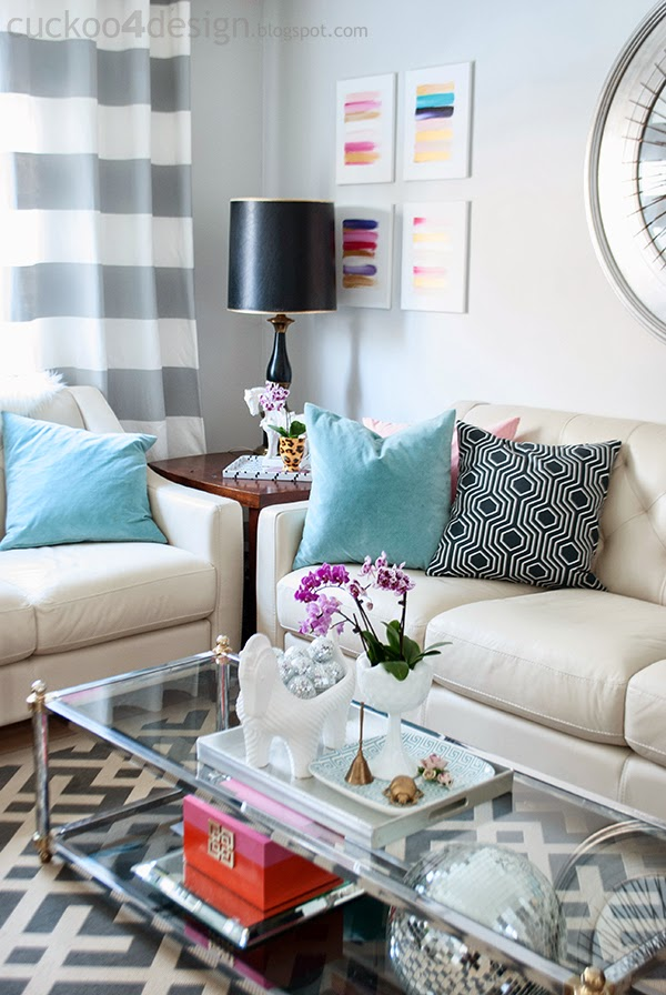 12 coffee table decorating ideas how to style your for Desk living room design ideas