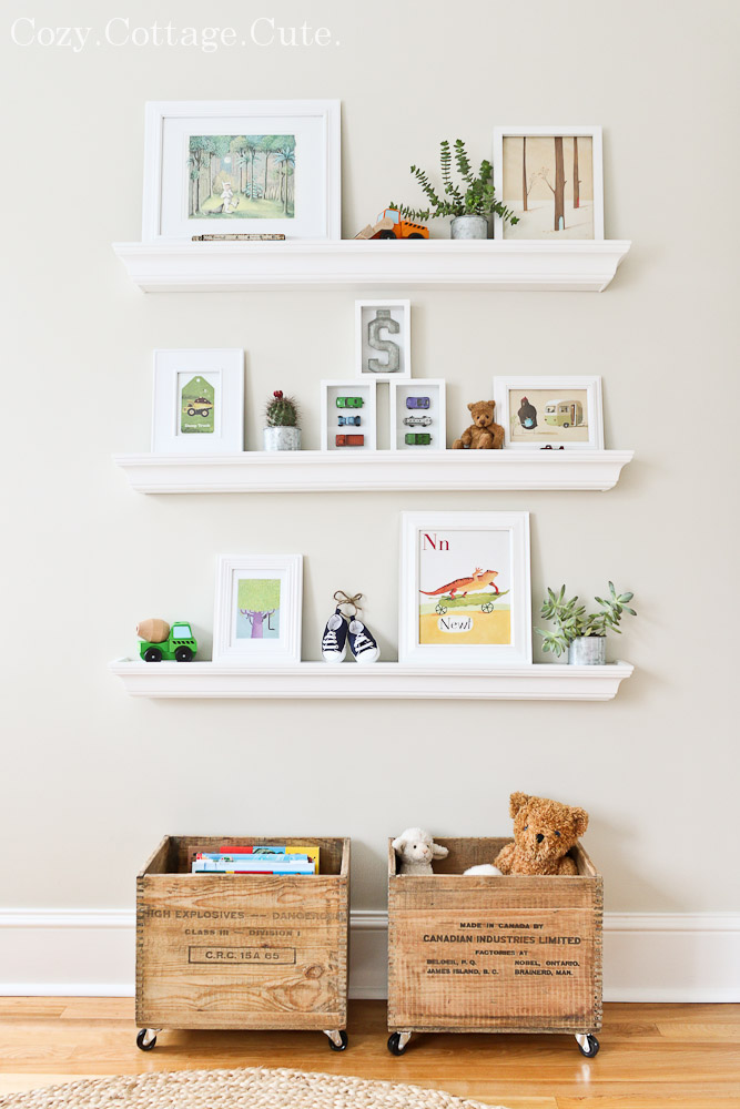 Ideas for floating shelves floating shelf styles - Shelf living room ideas ...