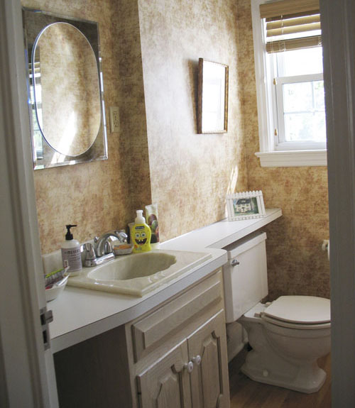 Win Bathroom Makeover: Before And After Pictures Of Bathrooms