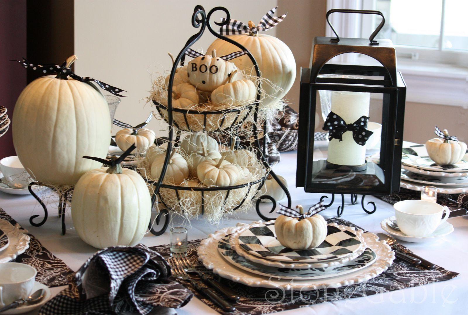 Halloween tablescapes - Halloween Tablescapes 3