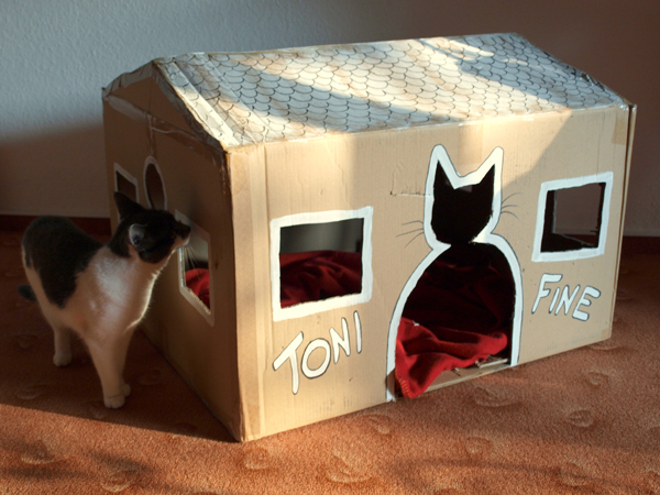 handmade cat bed ideas diy pet furniture ForMake A Cat Bed Out Of A Box