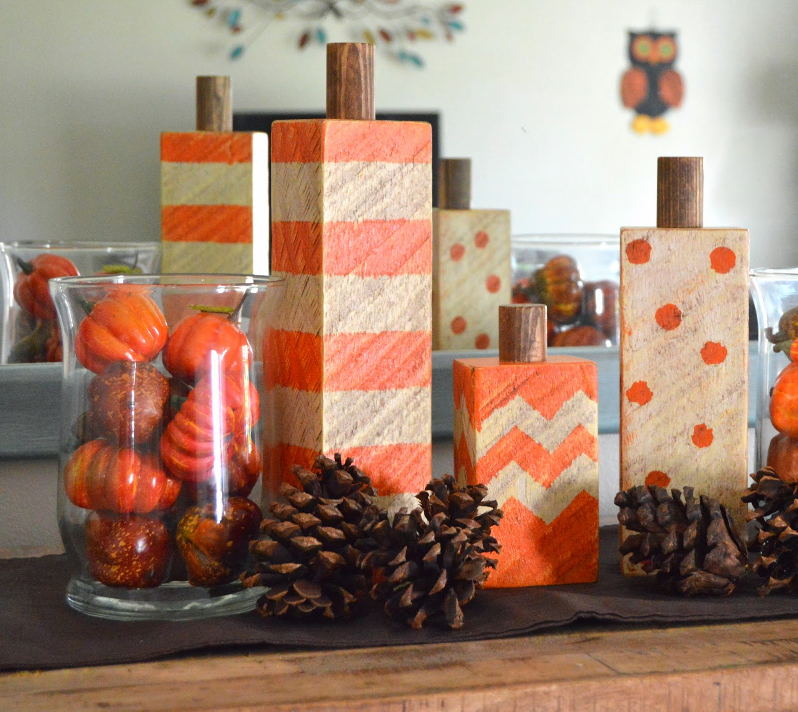 rustic pumpkin crafts diy fall decor - Pumpkin Decor