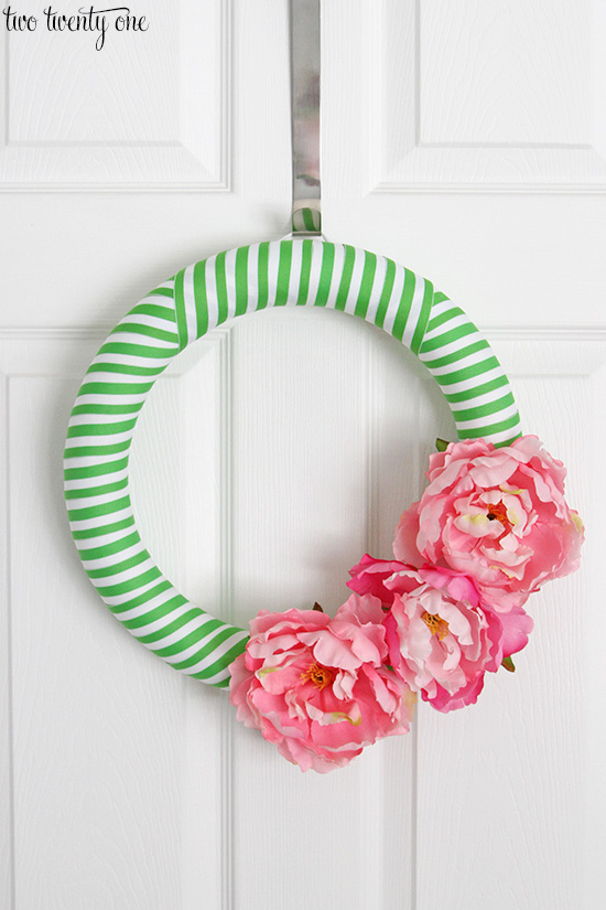 Wreath Design Ideas green christmas wreath with evenly spaced gold balls Diy Ribbon Wreaths Craft A Wreath For Your Door