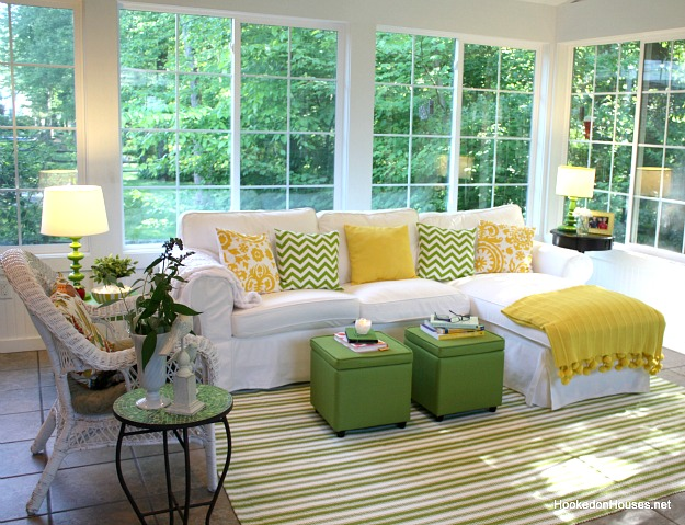 white couch living room. Think Citrus Style a White Sofa  How to Decorate Couch
