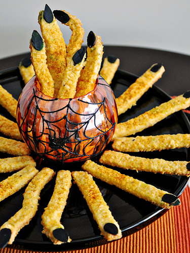 34 Best Halloween Party Snacks - Creepy Halloween Party Food Ideas