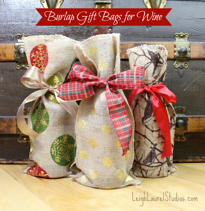 Wine Gift Wrapping Ideas Part - 36: Good Housekeeping