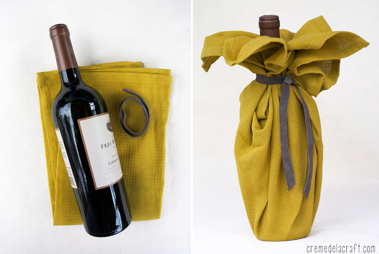 Wine Gift Wrapping Ideas Part - 28: Good Housekeeping