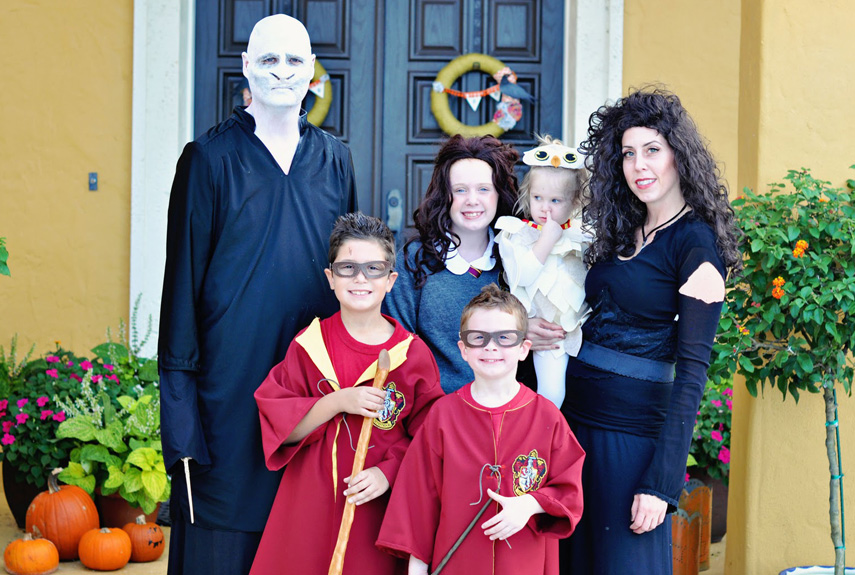Halloween Family Costumes view this image Harry Potter