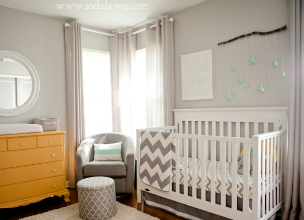 Gender neutral nursery ideas unisex nursery color ideas for Baby room decor ideas unisex