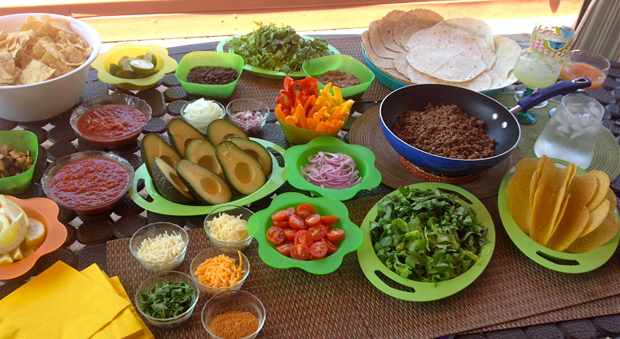 Create The Taco Bar To Rule All Taco Bars