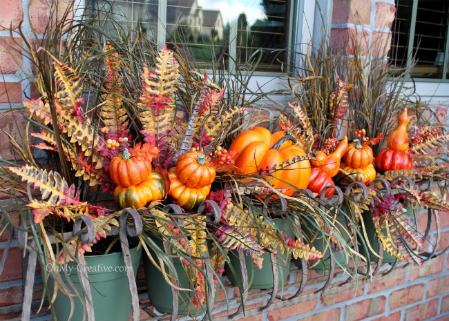 Fall Garden Decorating Ideas find this pin and more on gardeningyard art Fill A Window Box
