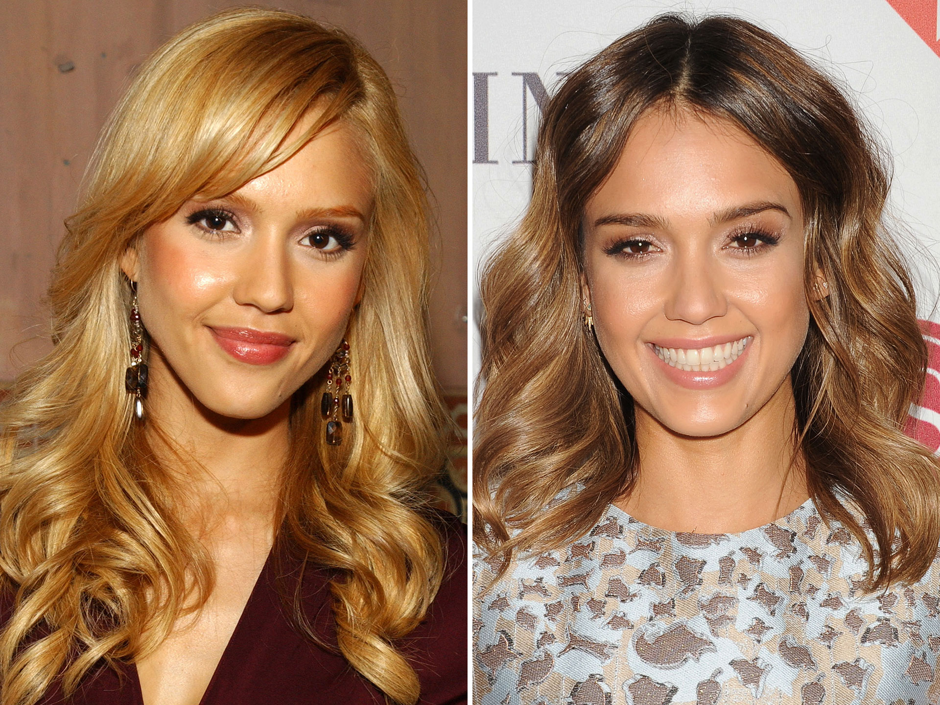 Celebs Who Have Had Blonde and Dark Hair - Blonde and Brunette ...